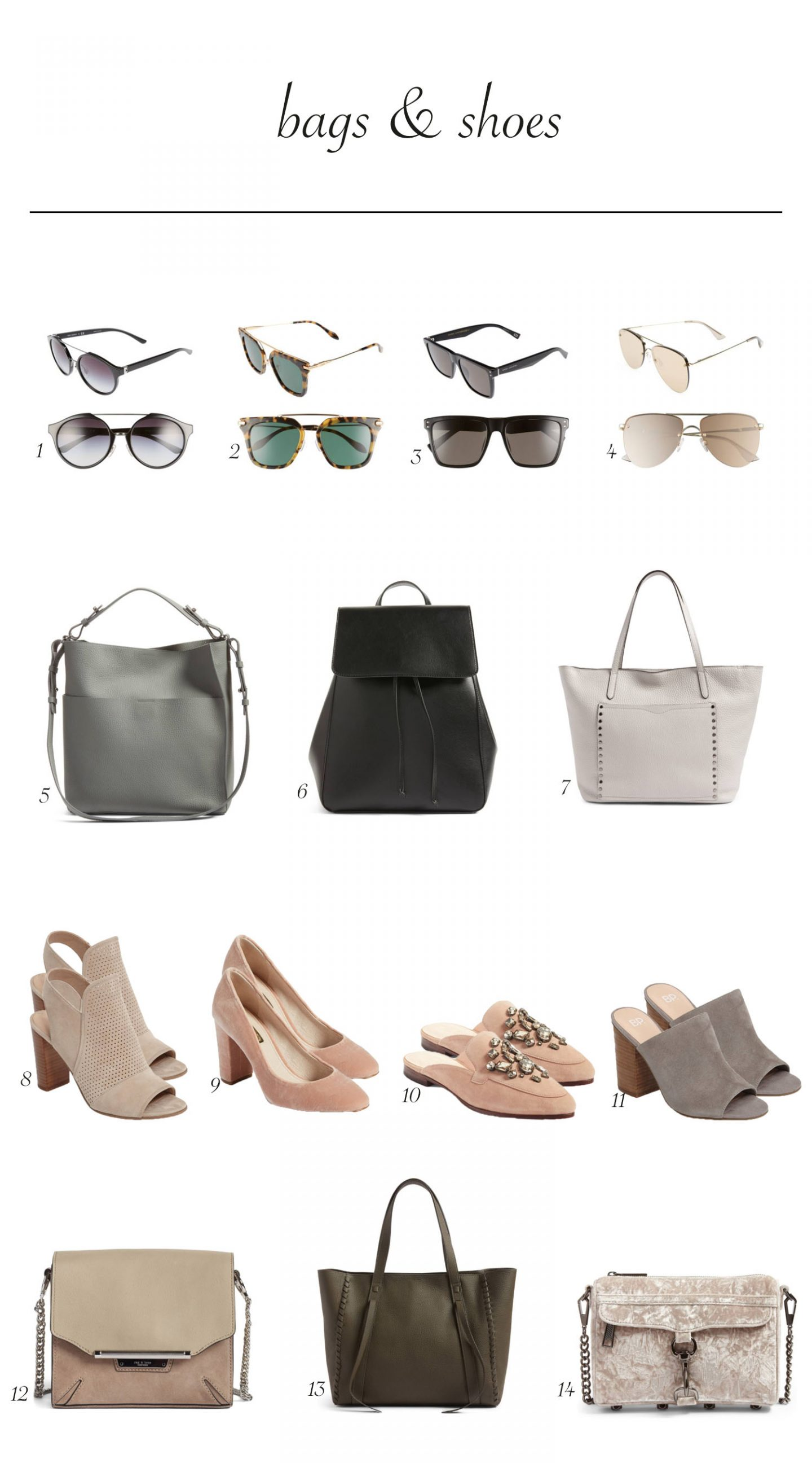 nordstrom sale, sunglasses, handbags, heels