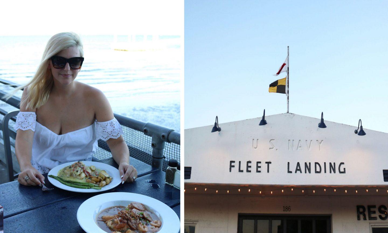 fleet landing, charleston, bay restaurants