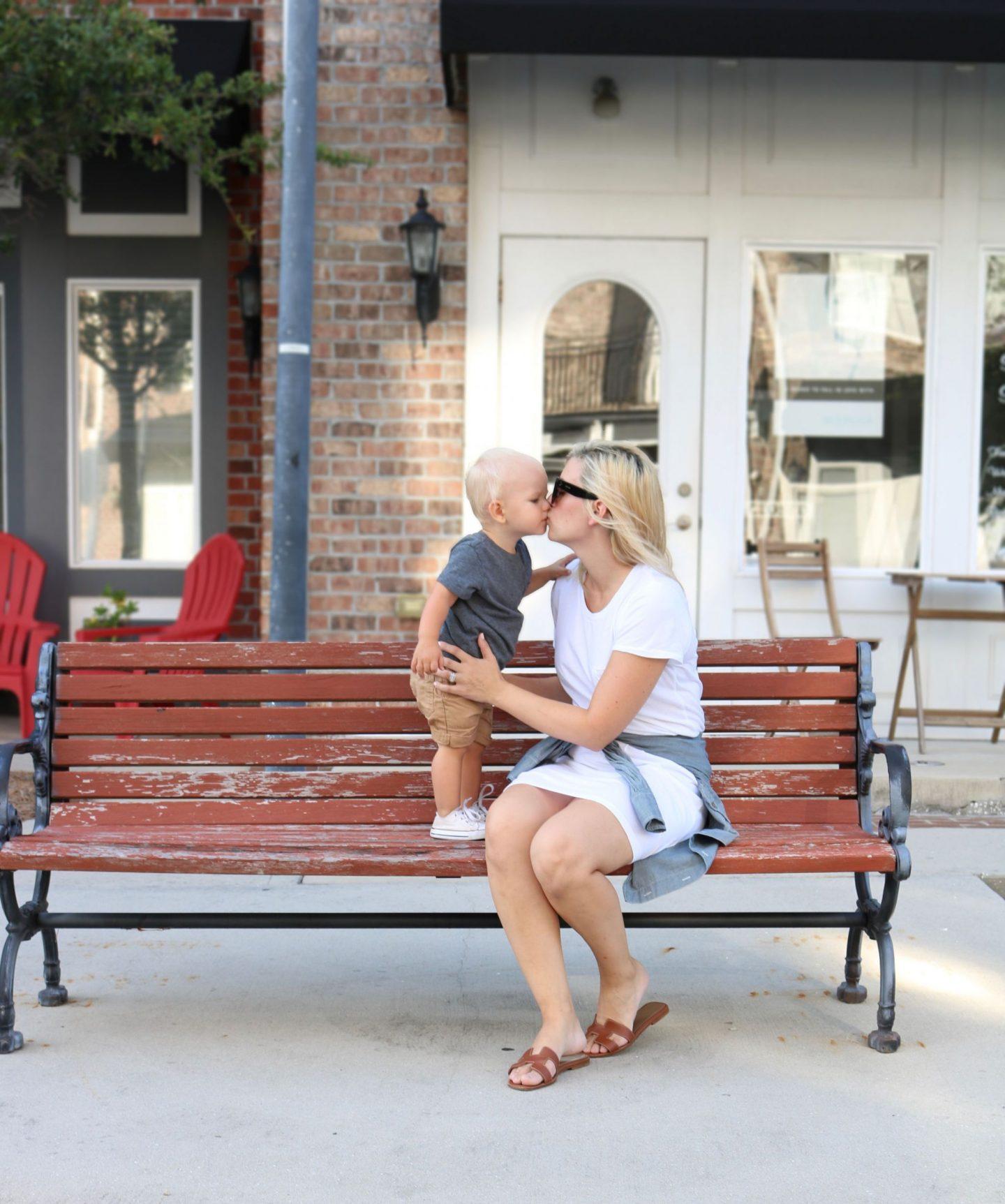 toddler boy, target style, hermes sandals, mommy blogger