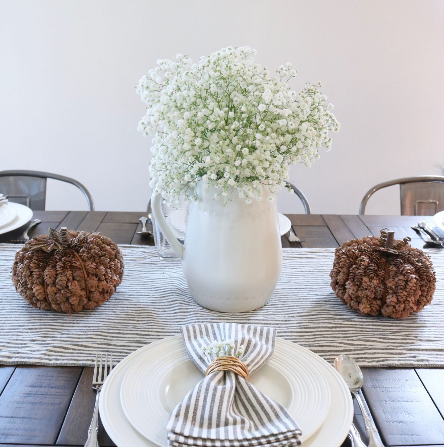 Thanksgiving Table Top Decor - Holiday Table inspiration