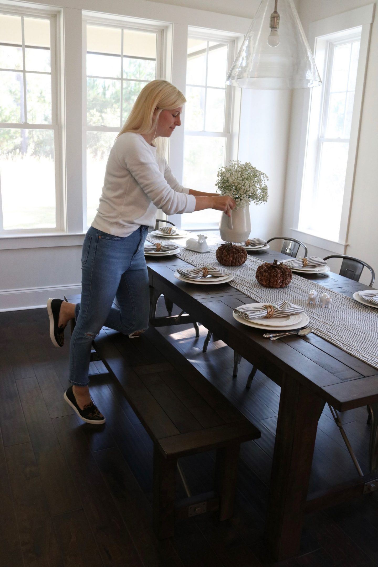 How to decorate for Thanksgiving - Tabletop Decor for Thanksgiving