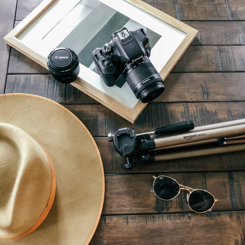 Canon t6i, tripod, fashion blogger, photographer, photos, how to take your own photos