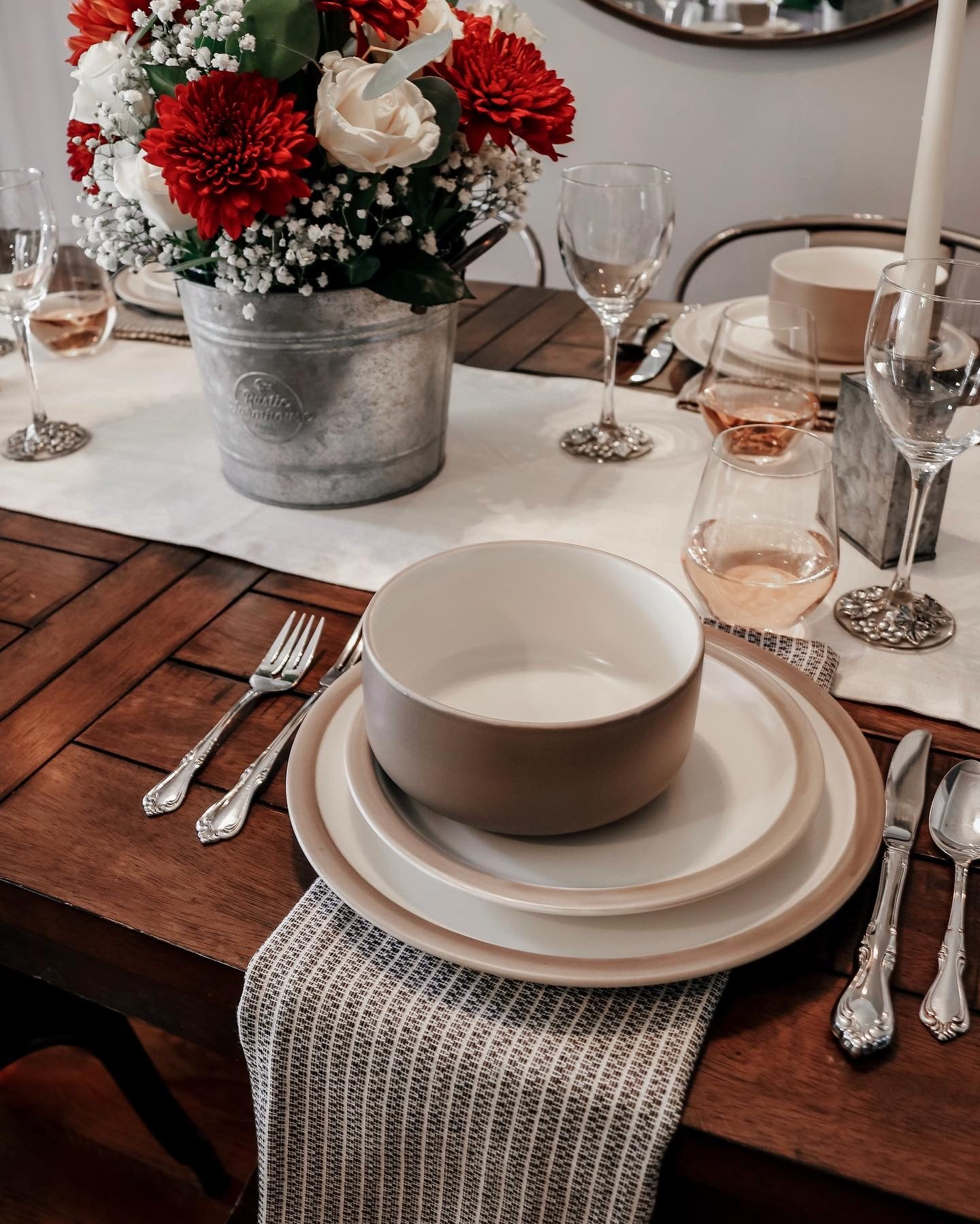 Tablewear, thanksgiving table decor, holiday tablescape
